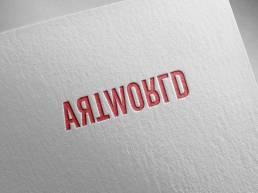hellodesign-artworld-logo-embossed