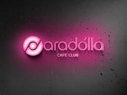 hellodesign-paradolla-cafe-logotype-neon-glow